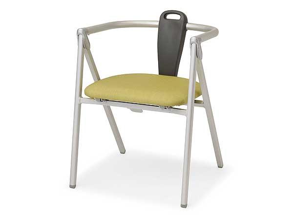 アルミ製折りたたみチェア   椅子パラマウントベッド株式会社